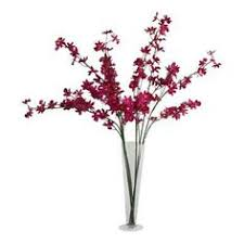 Silk Flower Depot - jane seymour 40 in pot dancing oncidium silk orchid p4184 yl
