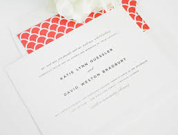 classic wedding invitations with red accents u2013 wedding invitations