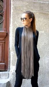 best 25 fringe necklace ideas on leather fringe diy