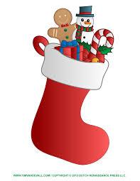 christmas stockings clip art free christmas stocking template