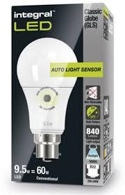 light sensor light bulbs dusk to dawn light bulbs daylight cool white sensor l led 60 75w