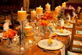 Fall Party Table Decorations - why the dread of night driving in fall