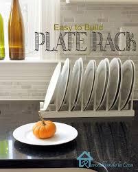 How To Build A Display Cabinet by Remodelando La Casa Diy Inside Cabinet Plate Rack