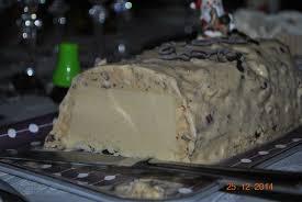 cuisine de noel 2014 bûche de noël 2014 vanille praliné noisettes sucette violette