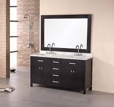 Two Sink Vanity London Stanmark 61 U2033 Double Sink Vanity Set In Espresso Design