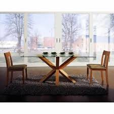 Rectangle Glass Dining Room Tables Dining Room Tables Glass Top Rectangular Gallery Dining