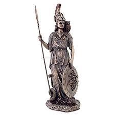 greek gods statues amazon com athena statue goddess of wisdom war the arts