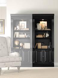hooker furniture home office telluride bunching bookcase w doors