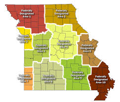 State Of Jefferson Map Geographic Rating Areas Missouri Department Of Insurance