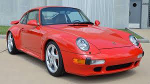 guards red porsche 1996 porsche 993 turbo