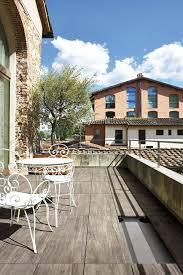 Beautiful Balcony Beautiful Balcony Atmosphere Featuring Ceramic Oak Wood Tiles