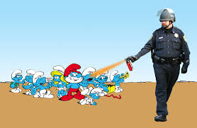 Pike Meme - image 204607 casually pepper spray everything cop know your