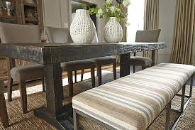 ashley dining table with bench multi strumfeld dining room bench view 3 home pinterest around