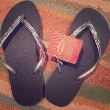 Most Comfortable Flip Flops For Women Nwt Dark Grey Studded Havaianas Size 6 Nwt Flip Flop Brands