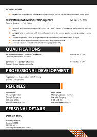 Job Resume Company by Corporate Resume Format