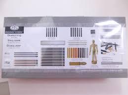 deluxe sketching set artist kit royal u0026 langnickel sketch box set