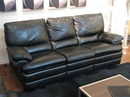 black leather reclining sofa drk architects