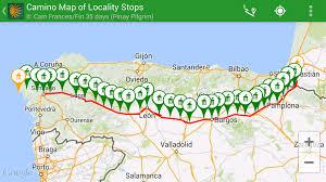 Offline Map Camino Pilgrim App Using The Offline Map Capability In Camino Pilgrim