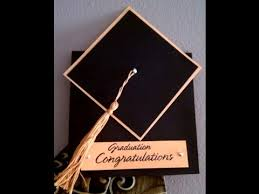 how to make graduation invitations how to make a tassel graduation cap card dinglefoot s scrap