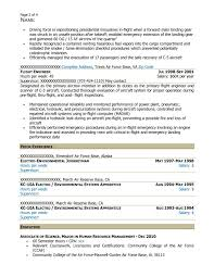 Child Life Specialist Resume Free Federal Resume Sample From Resume Prime