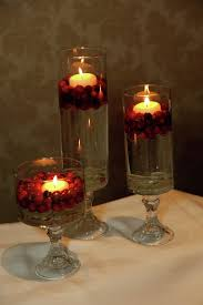 Vase And Candle Centerpieces by Best 25 Cranberry Centerpiece Ideas On Pinterest November 1st