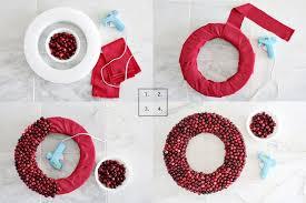 styrofoam wreath cranberry wreath diy contest closed a beautiful mess