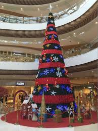 mall decorative lighted commercial tree yandecor
