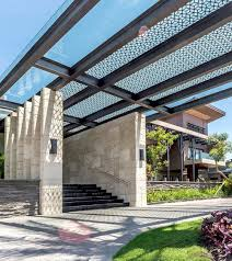 modern steel pergola sun shade fabric for wall mounted metal