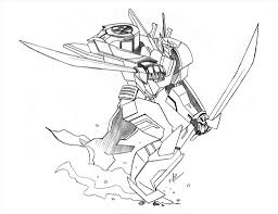 incredible transformer coloring pages print pic