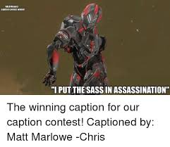 Halo Memes - halo memes caption contest winner i putthe sass in assassination