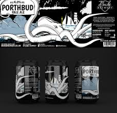 cartoon beer can porthbud beer can designs for bude brewery cornwall