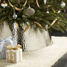 christmas tree collar glossy tree collar crate and barrel idea instead of a