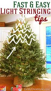 Light String Christmas Tree by My Style Christmas Tree Lighting Tips In My Own Style