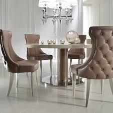 high end italian designer leather dining chair juliettes