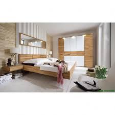 Schlafzimmer Holz Eiche Bett 160 200 Holz Massiv Mit Kopfteil Und Inkl Matratze Mit