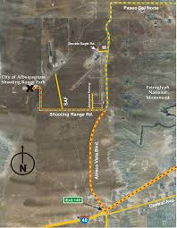 Goo Map Map To Shooting Range U2014 City Of Albuquerque