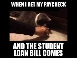 Bill Collector Meme - when i get my paycheck and the student loan bill comes youtube