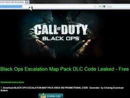 map of the dead call of the dead escalation map pack leaked codes 100 working