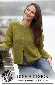 www drops design sweet cardigan drops 164 42 free knitting patterns by