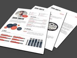 Infographic Resume Template Premium Infographic Resume Templates