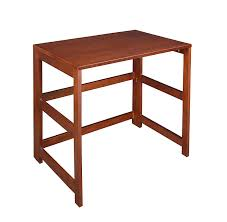 amazon com regency flip flop 31 inch folding desk cherry