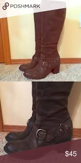 s boots size 9 1 2 born brown leather boots size 9 1 2 born boots born shoes