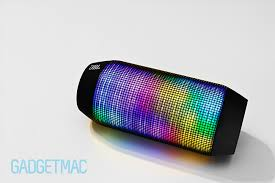 portable speaker with lights jbl pulse wireless led speaker review gadgetmac