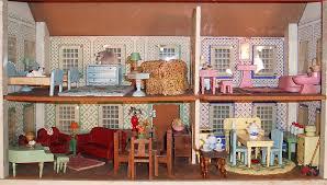 Doll House Furniture My Vintage Dollhouses Schoenhut Versus Converse