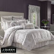 white and silver bedding r262 luxury comforter sets touch of