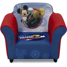 delta children mickey mouse upholstered chair walmart com