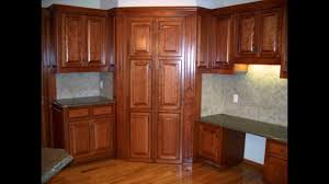corner kitchen pantry cabinet furniture youtube