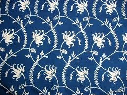 Block Print Wallpaper Indian Block Print Cotton Fabric Vegetable Dye Fabric Lotus