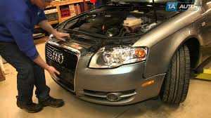audi a4 headlight bulb replacement how to install replace change headlights and bulbs 2005 08 audi a4