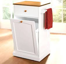 built in trash can cabinet built in trash can s cabinet counter outdoor cans energiansaasto info